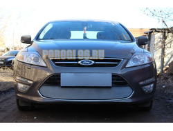 Защита радиатора Ford Mondeo IV 2010-2014 chrome