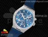 Overseas Dual Time Power Reserve TWA Best Edition Blue Dial