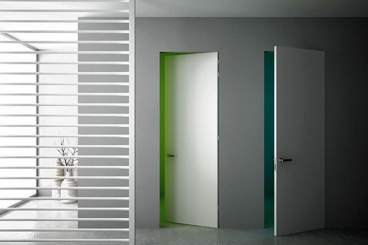 скрытый дверной короб