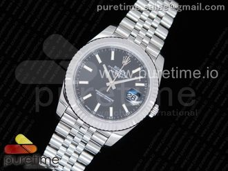 DateJust 41 126334 SS REF 1:1 Best Edition Black Dial