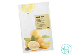 Маска тканевая Mizon Joyful Time Essence Mask Vitamin с  витамином C