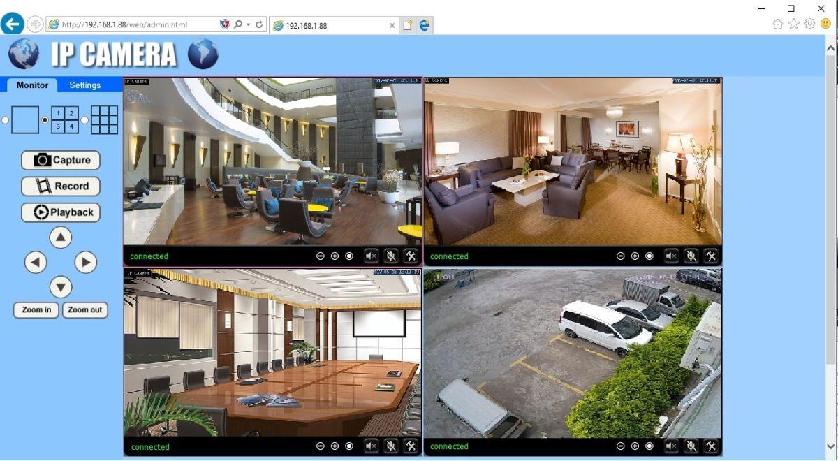 CCTV Scan. Купольная WiFi/LAN телекамера с DVR и картой памяти в 32 Гб, Full HD DE-WSCM-SW2600FD-32