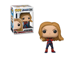 Купить Фигурку Funko Pop Фанко Поп Avengers End Game: Captain Marvel