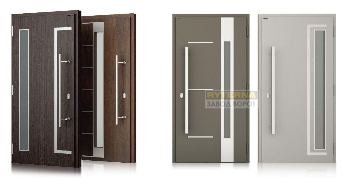 европейские двери с терморазрывом для дома современные входные двери