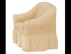Чехол Стандарт на кресло, цвет Какао