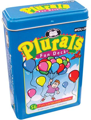 Plurals (regular)