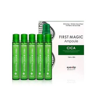 Eyenlip, Ампулы для лица с экстрактом центеллы First Magic Cica Ampoule A (1BOX)