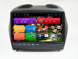 "Автомагнитола MegaZvuk T8-9018 Hyundai IX35 (2009-2013) на Android 7.1.2 Octa-Core (8 ядeр) 9"" Full Touch"