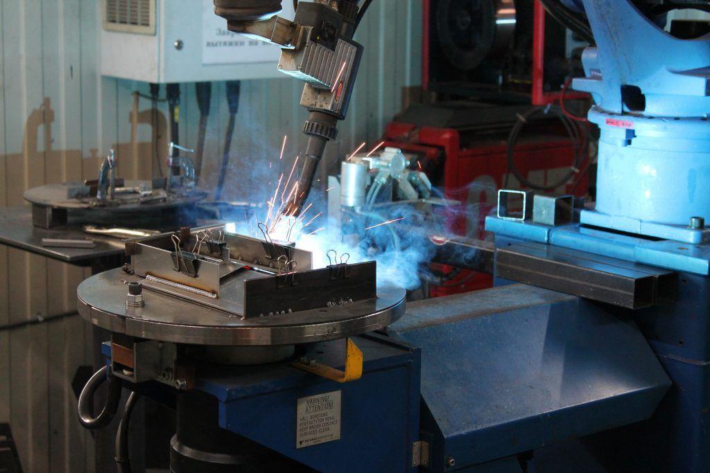 Роботизированная сварка стали на заводе «Ферингер и К»