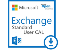 Microsoft Exchange Standard CAL English SA OLP NL User CAL 381-03109