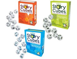 Rory's Story Cube Complete Set (Original, Actions, Voyages)