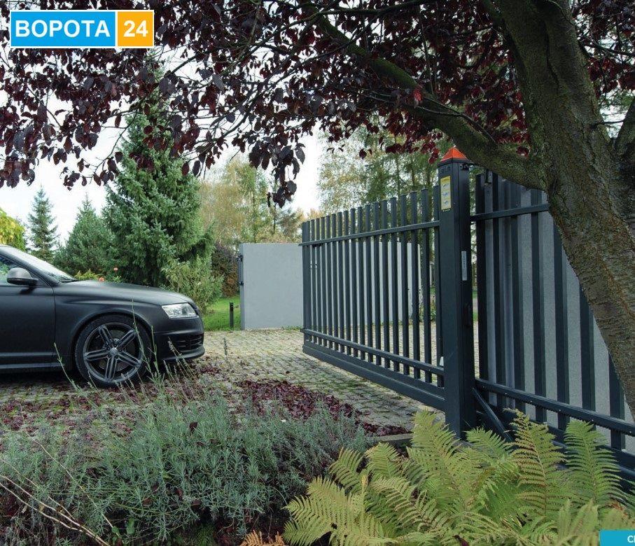 Купить автоматические ворота откатные в городе Одесса - серия WISNIOWSKI CLASSIC