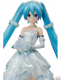 Фигурка 1/7 Мику Хацунэ (Hatsune Miku Wedding Dress ver.)