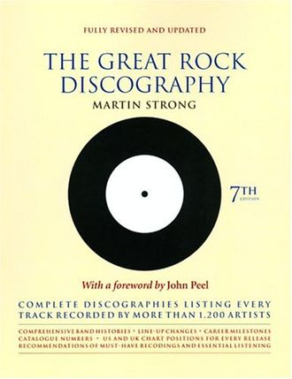 The Great Rock Discography 7 Edition Martin C. Strong Book, Иностранные книги Справочники, Intpress