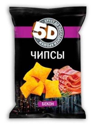 Чипсы пшеничные 5D в ассортименте 90 гр, 1 шт.
