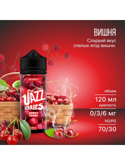 JAZZ BERRIES - CHERRY FUSION