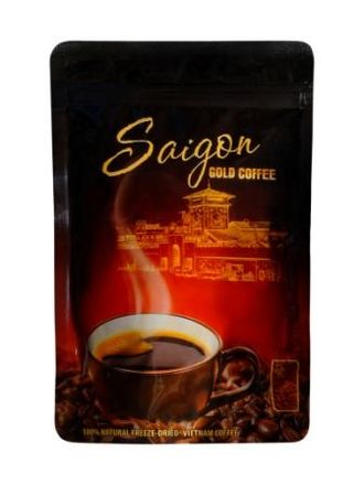 SAIGON GOLD COFFEE Растворимый сублимированный кофе 75 гр (модификация 1)