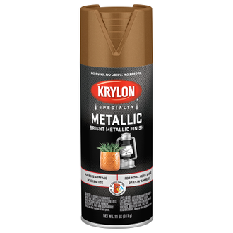 Krylon Metallic Brass 1708