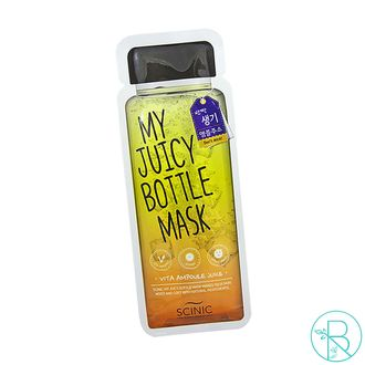 Маска тканевая Scinic My Juicy Bottle Mask Vita Ampoule Juice витаминная