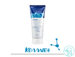 Пенка для умывания Farmstay Collagen Water Full Moist Deep Cleansing Foam с коллагеном