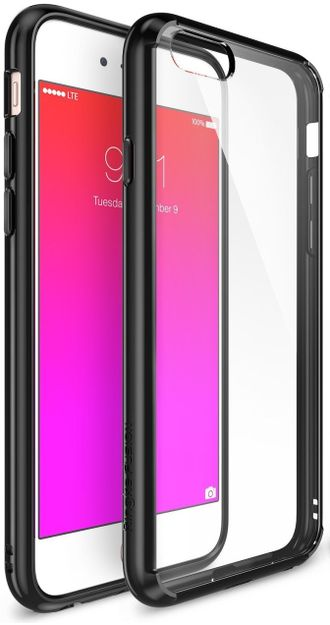 Чехол на Apple iPhone 6 и 6S, Ringke серия Frame, цвет черный (SF Black)