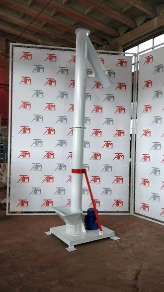 Винтовой вертикальный конвейер рудкино элеватор