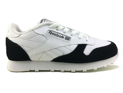 Reebok Classic Leather White Black женские (36-40) Арт. 209F-A