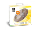 SVS Yellow H1 P14.5s 12v 55w 3000K