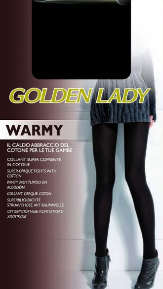 Golden Lady Warmy 200 den 2=S (Nero)