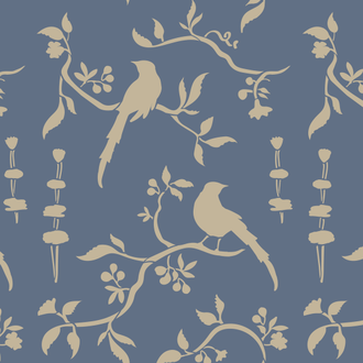 Трафарет Chinoiserie Bird
