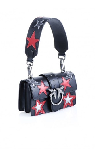 Pinko Love Mini Bag with INLAID STAR