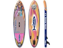 SUP BOARD НАДУВНОЙ BOMBITTO EXTRA WAVES 9.9 с веслом