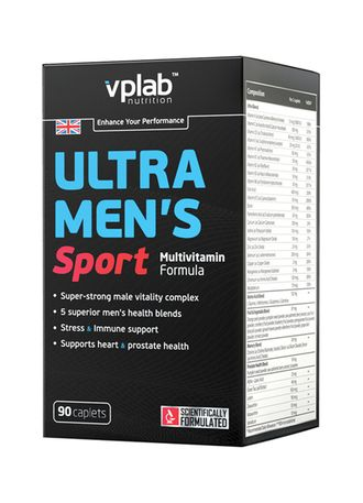 Ultra Mens Sport Multivitamin Formula (VP Lab) 90 капс