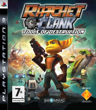 Игра для ps3 Ratchet & Clank: Tools of Destruction