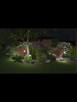 Проект садово-паркового освещения