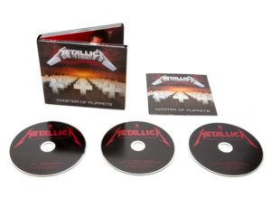 METALLICA Master of puppets 3-CD Digi -2017 EXPANDED
