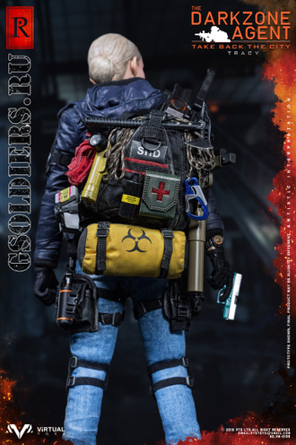Коллекционная фигурка 1/6 THE DARKZONE AGENT - TRACY R-VERSION VM-019 - VTS Toys