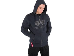 Толстовка Basic ZIP Hoody Alpha Industries Art.993