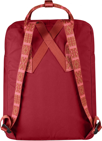 Рюкзак Fjallraven Kanken Deep Red/Folk Pattern (325/903)