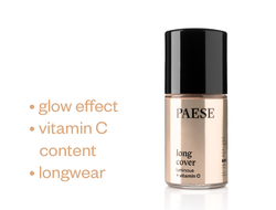 Тональный крем LONG COVER luminous vitamin C Paese