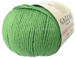 Gazzal baby cotton 3448 зеленый