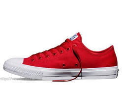 converse chuck taylor II salsa red 01