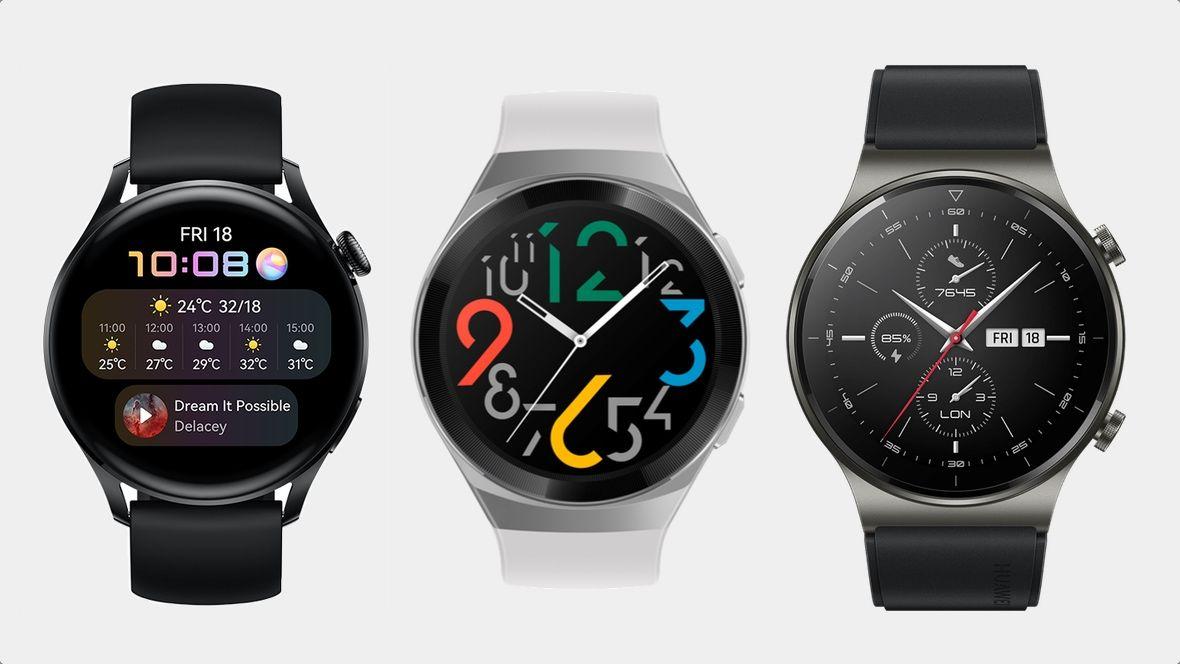 Huawei Watch 3 и Huawei Watch серии GT 2 в чем разница