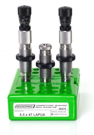 260 Remington COMPETITION BUSHING NECK DIE SET