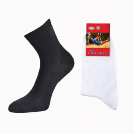 For children носки для мальчиков хлопок с лайкрой однотонные белые Арт. Д-25, 10 пар (1 упаковка)