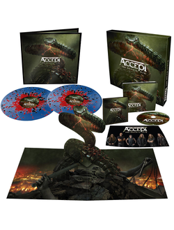 ACCEPT - Too mean to die Box-set
