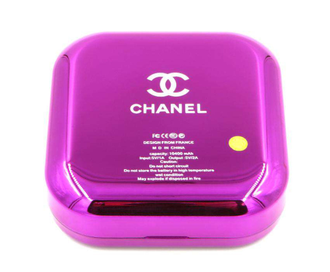 Power Bank 10400mAh Chanel пудреница с зеркалом-4