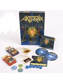 ANTHRAX For all kings POKER EDITION BOX SET