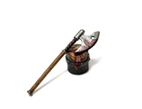 Executioner axe and chopping block (PAINTED)