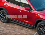 Пороги на Jeep Compass (2010-…) Black Start
